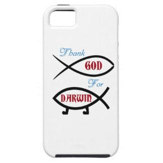 Danken Sie Gott für Darwin iPhone 5 Hülle