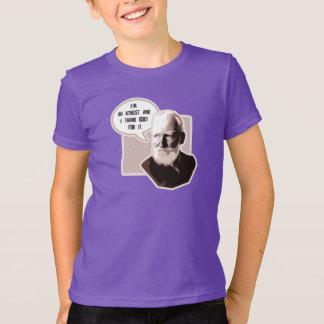Danken Sie Gott (George Bernard Shaw) T-Shirt