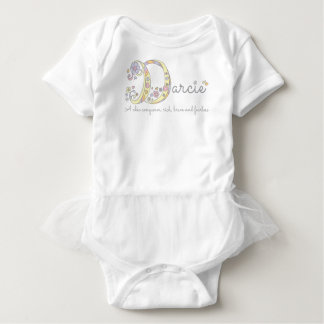 Darcie Mädchenname u. Bedeutung des Baby Strampler