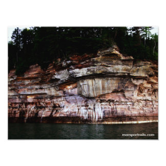 Dargestellte Felsen 5 Foto