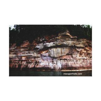 Dargestellte Felsen 5 Leinwand Drucke