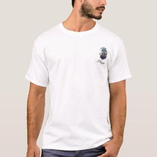 Dargestellte Spitzengewohnheit 24 tropisch T-Shirt
