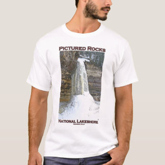 Dargestellter Felsen-Staatsangehöriger Lakeshore T-Shirt