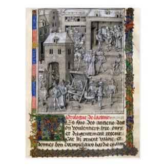 Darstellung des Buches zu Philippe Le Bon Postkarte