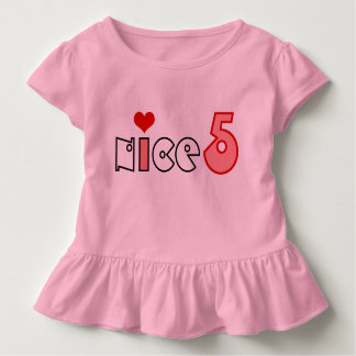 Das 5-jährige T-Shirt HQH des Kindes
