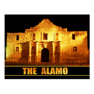 Das Alamo, San Antonio, Texas Postkarte