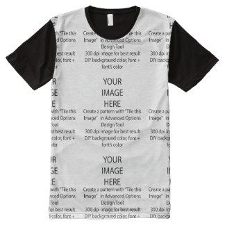Das amerikanische Kleid DIY Männer ganz über T-Shirt Mit Komplett Bedruckbarer Vorderseite