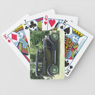 Das Auto des Vatis Spielkarten