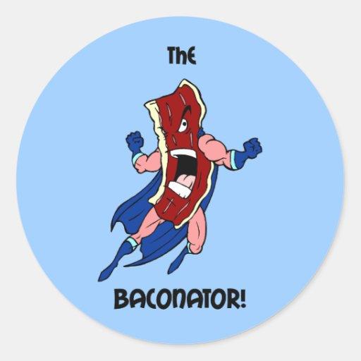 das baconator stickers