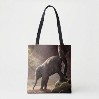 Das Bad-Taschen-Tasche des Baby-Elefanten erste