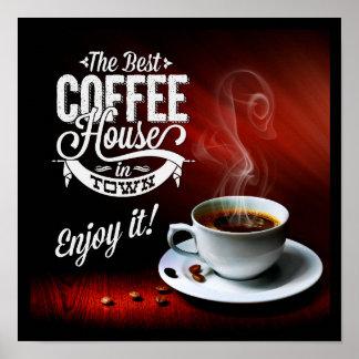 Das beste Café in der Stadt Poster