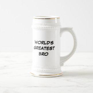 """Das bestste Bro"""" Stein """"der Welt Bierkrug"""