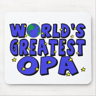 Das bestste Opa der Welt Mousepad