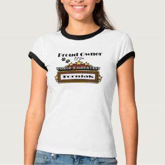 Das bestste Tornjak der stolze Inhaber-Welt T-Shirt