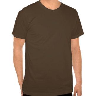 Das Brown-T-Shirt der Wurzel-Reggae-Männer T-shirt