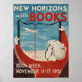 Das Buch-Wochen-Plakat 1951 Kinder Poster