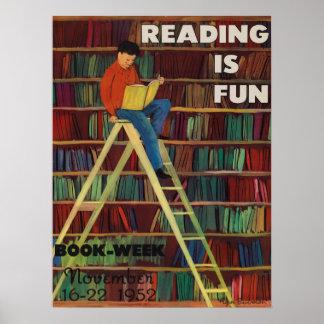 Das Buch-Wochen-Plakat 1952 Kinder Poster
