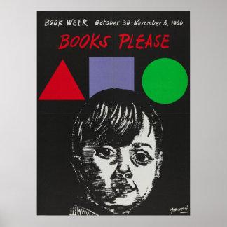 Das Buch-Wochen-Plakat 1966 Kinder Poster