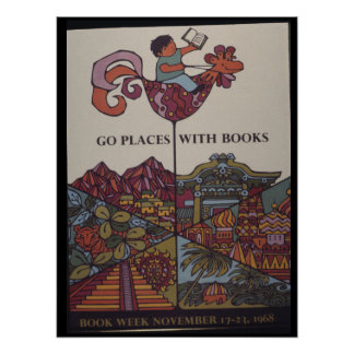 Das Buch-Wochen-Plakat 1968 Kinder Poster