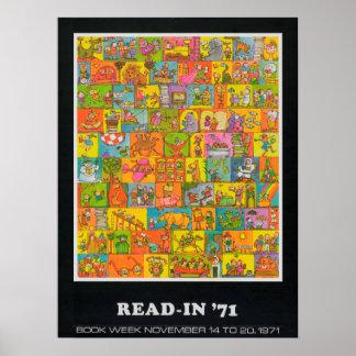 Das Buch-Wochen-Plakat 1971 Kinder Poster
