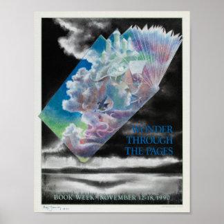 Das Buch-Wochen-Plakat 1990 der Kinder Poster