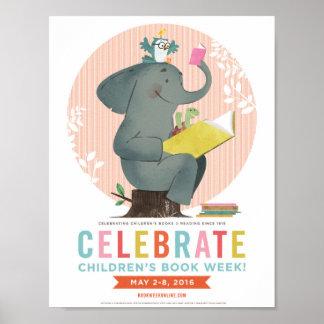 Das Buch-Wochen-Plakat 2016 Kinder Poster