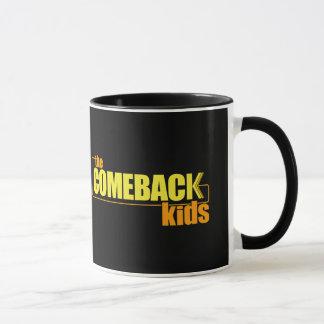 Das Come-back scherzt Tasse