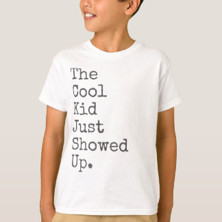 Das coole Kind gerade gezeigt T-Shirt