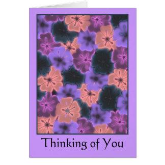 Das Denken an Sie kardieren Grußkarte
