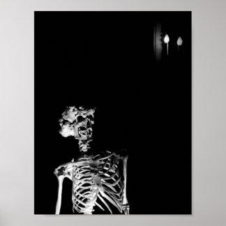 Das Elephant Mans Skelett Poster