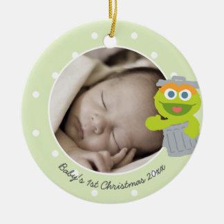 Das erste Weihnachten Babys Oscars   - addieren Keramik Ornament