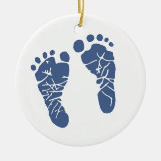 Das erste Weihnachten des Babys Keramik Ornament
