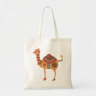 Das ethnische Kamel Budget Stoffbeutel