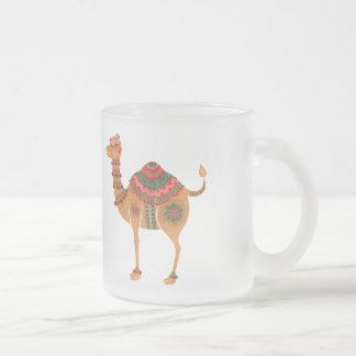Das ethnische Kamel Mattglastasse