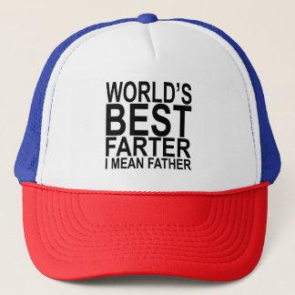 Das Farter I der Welt bestes gemeiner Truckerkappe
