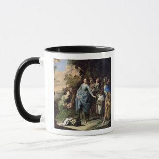 Das Finden von Mosese, c.1650-56 (Öl auf Leinwand) Tasse