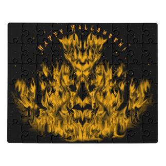 Das Flammen-Monster im Starlight-Himmel Puzzle