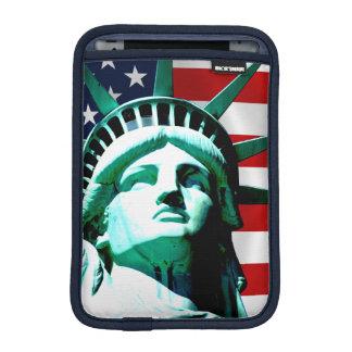 Das Freiheitsstatue, New York, NY Sleeve Für iPad Mini