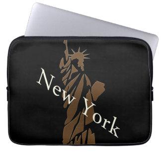 Das Freiheitsstatue New- Yorkentwurf Laptopschutzhülle