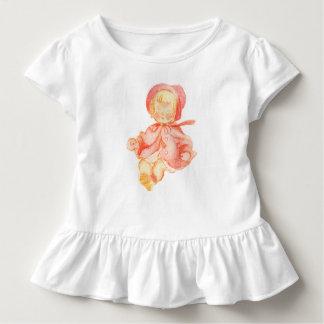 Das Gefühl des Vintagen Kleinkind-Kleides Kleinkind T-shirt