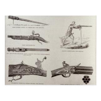 Das Gewehr und seine Entwicklung Postkarte