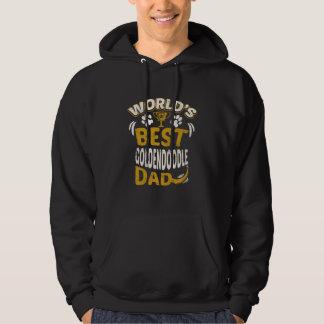 Das Goldendoodle der Welt beste Vati-Grafik Hoodie