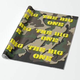 """Das große Camouflage-Verpackungs-Papier 30"""" x6 Geschenkpapier"""