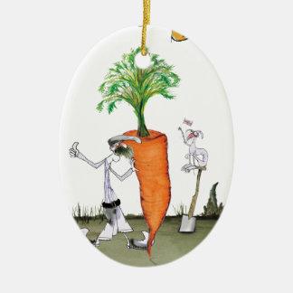 Das größte carrot Liebe-Yorkshire'Welt Keramik Ornament