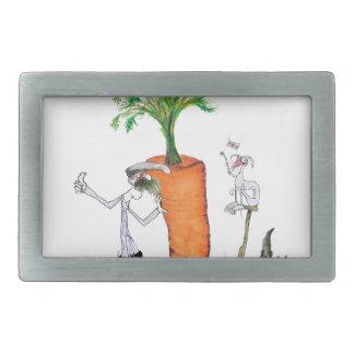 Das größte carrot Liebe-Yorkshire'Welt Rechteckige Gürtelschnalle