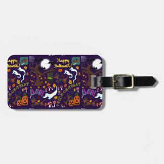 Das Halloween der Diva-Dackel Kofferanhänger