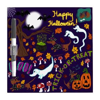 Das Halloween der Diva-Dackel Memoboard