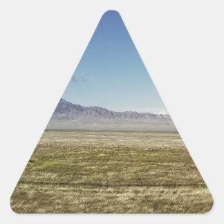 Das Höchstpanorama 1 des Pilot Dreieckiger Aufkleber