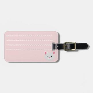 Das identifikatore Etikett des Gepäcks klettert Gepäckanhänger