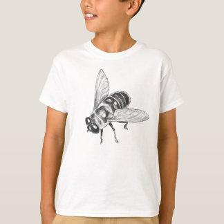 Das Insekten-Kunst-Shirt-des Kindes des Bienen-T - T-Shirt
